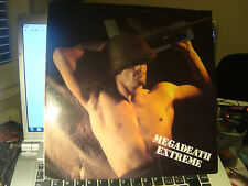 "RAR MAXI 12"". MEGADEATH. PETE G'N. MADE IN SPAIN. DRO. 1987"