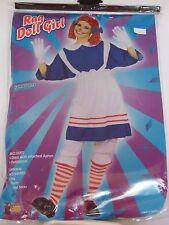 Size 14-16 Women's Ragedy Ann Doll Dress Costume Cosplay Halloween Party