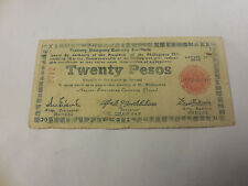 Philippines Emergency Currency Negros Twenty Pesos - Low Serial - # 2717