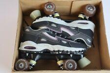 New listing Roller Derby Avenue Riders Skates Women Size 9 Abec-1. Black/Grey/Purple Unused