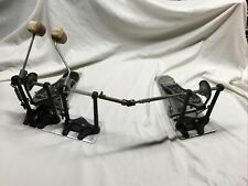 DW 5000 Double Bass Drum Pedal 5002 Vintage Offset Beater Style Some Light Rust