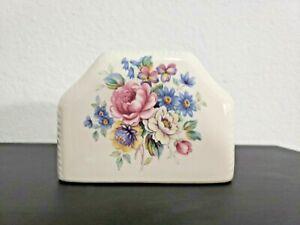 V B ATHENA USA toothbrush  holder Pink, Blue, Yellow, Roses white Porcelain