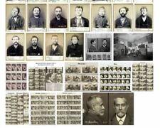 LOT22 PHOTOSTRAVAUX ALPHONSE BERTILLON ANTHROPOMETRIE POLICIERE REPRODUCTIONS