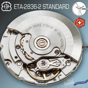 MOVEMENT AUTOMATIC ETA 2836-2, STANDARD, ENGLISH-ENGLISH DAY
