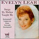 Evelyn Lear - Songs my Mother Taught Me - Evelyn Lear [CD]