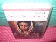 el arte de las miniaturas - jhabvala - ivory-  dvd