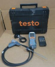 Testo 330-2 LL FLUE GAS Analyseur Combustion Air frais projet zeroing O2 Test CO2