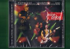 JOE SATRIANI ERIC JOHNSON STEVE VAI - G3 LIVE IN CONCERT CD NUOVO SIGILLATO