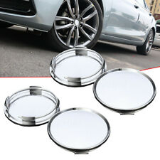 4x Universal 63mm ABS Car Vehicle Wheel Center Caps Cover Tyre Tire Rim Hub Cap