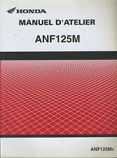 (73) REVUE TECHNIQUE MANUEL ATELIER MOTO HONDA ANF125M3