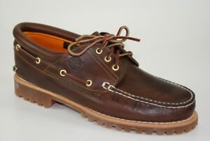 Timberland Heritage 3-Eye Classic Lug Traditional Boat Shoes Docksider 30003