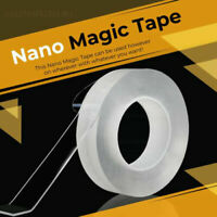 5m Magic Double Sided Grip Tape Traceless Washable Adhesive Gel Nano Invisible