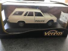 PEUGEOT 504 BREAK 4X4 DANGEL POLICE  VEREM  1/43 neuf en boite F123