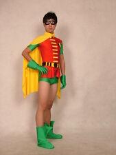 New Halloween lycra spandex zentai cosplay short leg robin S--XXL