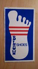 Adesivo Sticker BLOW SHOES  (scarpe)  cm 11,5 x 7 circa