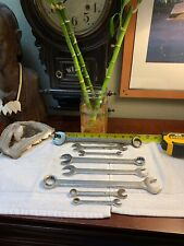 Vintage Proto Tools Billings Vitalloy LOT Of 8 Combination Box Open End Wrenches