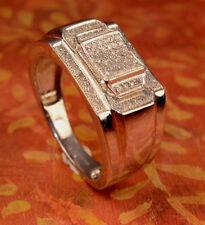 Man's Diamond And White gold Finish Rings pinky Ring Man's jewlery Diamond Ring