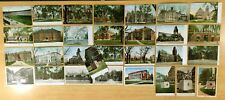 30 Antique & Vintage Postcards ALL HARVARD UNIVERSITY Cambridge, MA 1906-1941