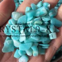 100g Tumbled 100% NATURAL Amazonite QUARTZ Crystal Stones Crystals Wholesale