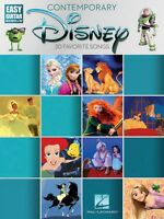 Contemporary Disney Sheet Music Easy Guitar with Tab Easy Guitar Book 000196954