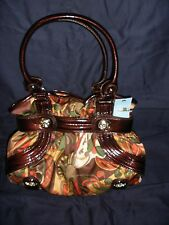 Vintage Kathy Van Zeeland Purse Delicious Belt Shopper Warhol Brown H34605 (NWT)