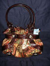 Vintage Kathy Van Zeeland Purse Delicious Belt Shopper Warhol Brown H34605 (NWT)