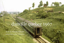 Canadian National Railway 1905 Danville Quebec July 2 1967 b