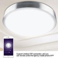 Wifi Wireless Deckenleuchte,1600W Farben,RGBW Lampe für APP: Alexa Google Home ✪