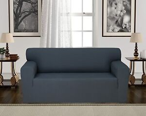 Chiara Rose Couch Covers for Dogs Sofa Cushion Slipcover 2 Seater Furniture Grey