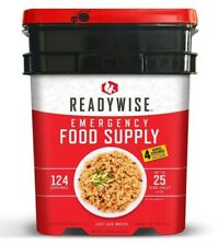 Readywise Emergency Food Supply Bucket 124 Servings + 4 bonus - 25 Year Life