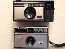 Kodak 224 + Kodak 100 instamaticfilm Caméras