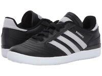 Adidas Youth Boys Busenitz Pro J Sneakers Black White 10.5 New