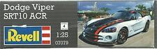 REVELL 1:25 KIT AUTO DA MONTARE E COLORARE DODGE VIPER SRT10 ACR  ART 07079