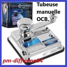 OCB - TUBEUSE de TABLE MANUELLE - OCB MIKROMATIC - Pour tuber les Cigarettes !