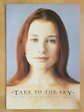 Tori Amos Take To The Sky Number 5 Summer 1994 Issue Music Book Baltimore RARE