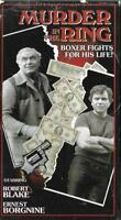 Murder in the Ring 1972 VHS Robert Blake Ernest Borgnine