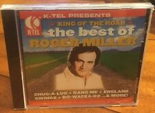 Roger Miller ~ King of the Road: The Best of  ~ 2005 K-Tel CD ~ NEW