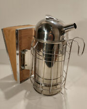 Beekeeping Europeon Domed Top Bee Smoker wih perforated fuel canister