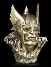 Viking Bust - God of Thunder Thor - Asen Figurine - by Willow Hall