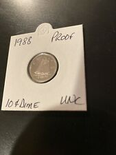 SALE! 1988 Canada Proof UNC 10 Cent Dime