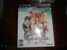 Tales of Xillia: Limited Edition  (Sony PS 3, 2013)**Brand New Factory Sealed**