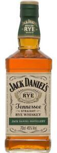 Jack Daniels Rye Whiskey 700mL Bottle