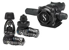 scubapro mk25 evo A700 carbon black tech and  scubapro  X black bcd