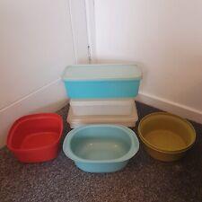 More details for vintage tupperware bundle tubs bowls lids