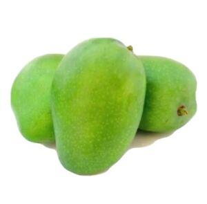 Fresh Mango, Green Raw Mango small - 10 Pcs (FREE UK POSTAGE)