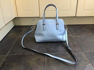 Kate Spade New York Mystic Blue Maise Cedar Street Satchel Shoulder Bag
