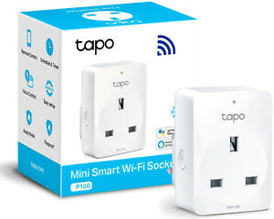 TP-Link Tapo Smart Plug Wi-Fi Outlet, Works with Amazon Alexa (Echo and Echo Dot