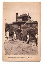 38 - cpa - DEMPTEZIEU - L'aumônerie   (C5989)