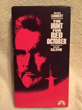 THE HUNT FOR RED OCTOBER ** Sean Connery -- 100's of VHS in Store, Rare & OOP