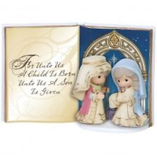 Precious Moments 151408 Holy Family Book Figurine New & Boxed